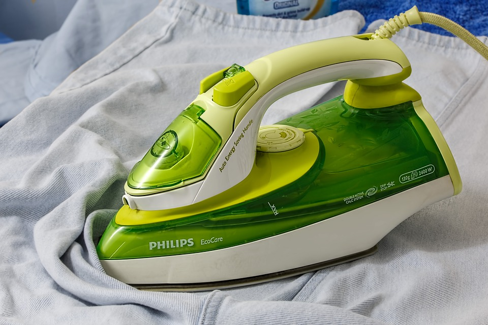 Green iron used for ironing services