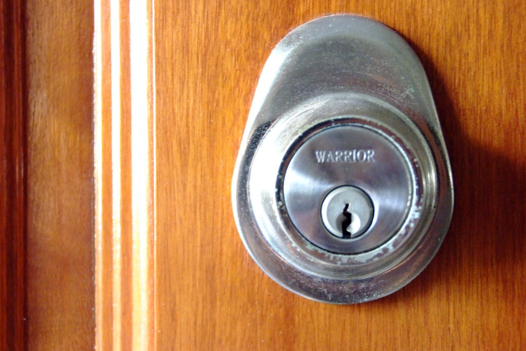 door security lock by tim lee on flickr